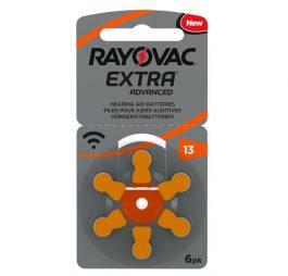 Batterijen voor hoortoestel Oranje 6 stuks