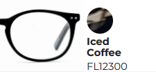 Leesbril Frank & Lucie Eyecon Iced Coffee Brown +2.50