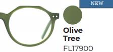 Leesbril Frank & Lucie Eyecube Olive Tree +2.00
